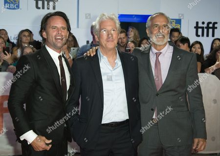 Richard Gere, Walton Goggins and Jon Avnet