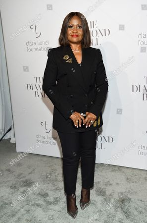 Rihanna's mother Monica Fenty attends the 3rd Annual Diamond Ball at Cipriani Wall Street, in New York