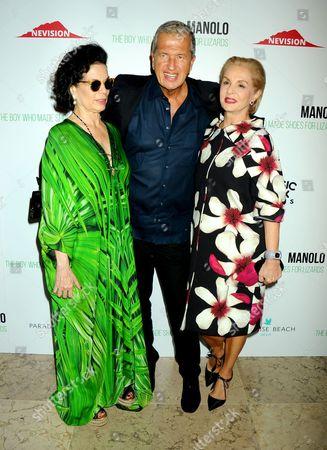 Bianca Jagger, Mario Testino, Carolina Herrera
