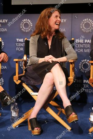 """Executive producer Jennifer Flackett seen at the screening and Q&A of Netflix """"Big Mouth"""" at the Paley Center, in Beverly Hills, Calif"""