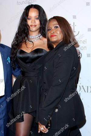 Rihanna and Monica Fenty