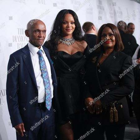 Lionel Braithwaite, Rihanna and Monica Braithwaite
