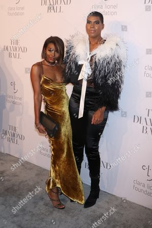 Elisa Johnson and EJ Johnson