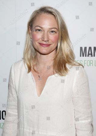 """Actress Sarah Wynter attends the world premiere of, """"Manolo: The Boy Who Made Shoes For Lizards"""", hosted by Manolo Blahnik and The Cinema Society, at The Frick Collection, in New York"""