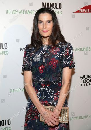 """Jewelry designer Jennifer Creel attends the world premiere of, """"Manolo: The Boy Who Made Shoes For Lizards"""", hosted by Manolo Blahnik and The Cinema Society, at The Frick Collection, in New York"""