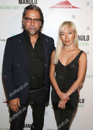 """Editorial picture of World Premiere of """"Manolo: The Boy Who Made Shoes For Lizards"""", New York, USA - 14 Sep 2017"""