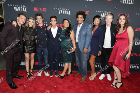 Jimmy Tatro, G. Hannelius, Griffin Gluck, Tyler Alvarez, Jessica Juarez, Lou Wilson, Camille Hyde, Calum Worthy and Camille Ramsey
