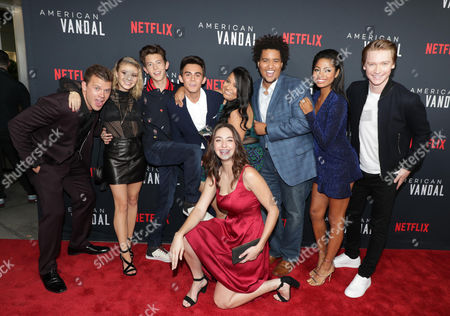Jimmy Tatro, G. Hannelius, Griffin Gluck, Tyler Alvarez, Jessica Juarez, Camille Ramsey, Lou Wilson, Camille Hyde and Calum Worthy