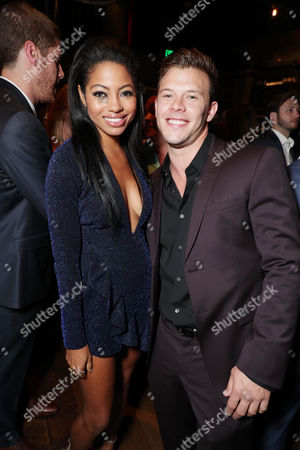 Camille Hyde and Jimmy Tatro