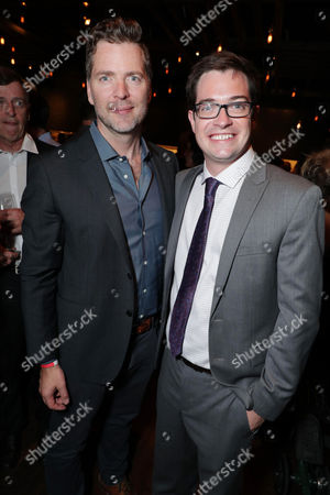 Stock Image of Brian Wright - VP of Original Series, Netflix and Dan Perrault - Creator/Exec. Producer