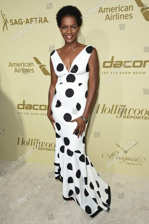 Kelsey Scott attends the THR and SAG-AFTRA Nominees Night at the Waldorf Astoria, in Beverly Hills, Calif