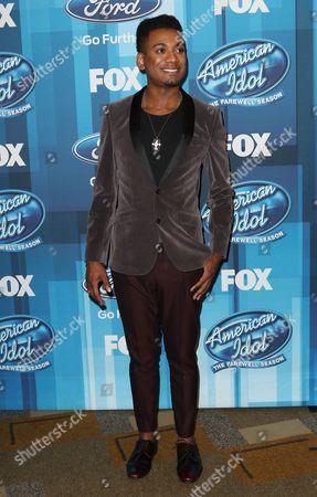 "Editorial photo of ""American Idol"" Farewell Season Finale - Arrivals, Los Angeles, USA"