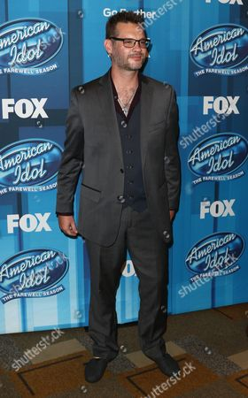 """Editorial picture of """"American Idol"""" Farewell Season Finale - Arrivals, Los Angeles, USA"""