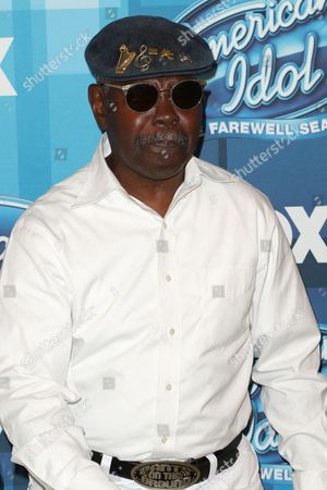 """Stock Picture of Larry Platt arrives at the """"American Idol"""" farewell season finale at the Dolby Theatre, in Los Angeles"""