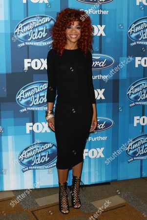 "Editorial image of ""American Idol"" Farewell Season Finale - Arrivals, Los Angeles, USA"