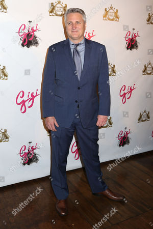 "Stock Photo of Director Eric Schaeffer attends the Broadway opening night party of ""Gigi"", in New York"