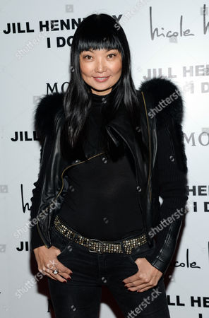 "Model Irina Pantaeva attends the album release party for Jill Hennessy's ""I Do"" at The Cutting Room, in New York"