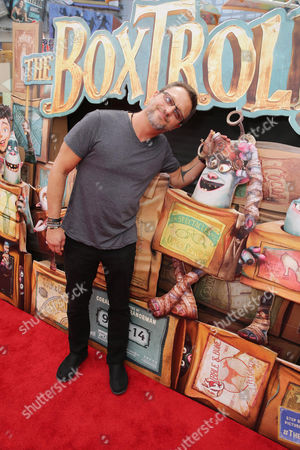 "Steve Blum seen at ""THE BOXTROLLS"" LOS ANGELES PREMIERE Presented by LAIKA AND FOCUS FEATURES To Benefit the Imagination Foundation, in Universal City, Calif"