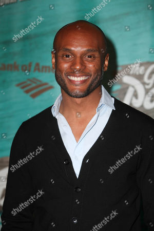 """Actor Kenny Lattimore during the arrivals for the opening night performance of """"The Gershwins' Porgy and Bess"""" at the Center Theatre Group/Ahmanson Theatre, in Los Angeles, Calif"""