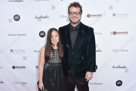 Sophia Beck, left and Christophe Beck arrive at the 11th annual Songs Of Hope benefit, in Los Angeles