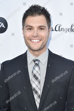 Erik Valdez arrives at the 11th annual Songs Of Hope benefit, in Los Angeles
