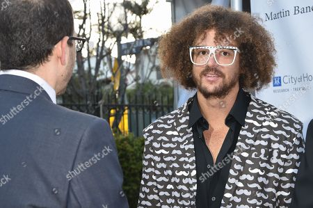 Stock Picture of Stefan Kendal Gordy (Redfoo) arrives at the 11th annual Songs Of Hope benefit, in Los Angeles