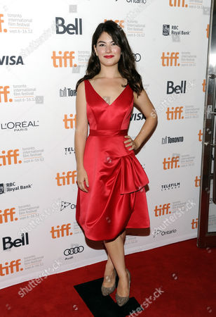 """Actress Katie Boland attends the premiere of """"The Master"""" during the Toronto International Film Festival on in Toronto"""