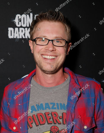 Stock Image of Kaj-Erik Eriksen attends the Con of Darkness, on Friday, July 19th, 2013 in San Diego, California