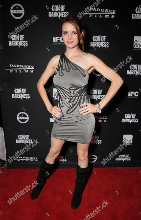 Catherine Annette attends the Con of Darkness, on Friday, July 19th, 2013 in San Diego, California