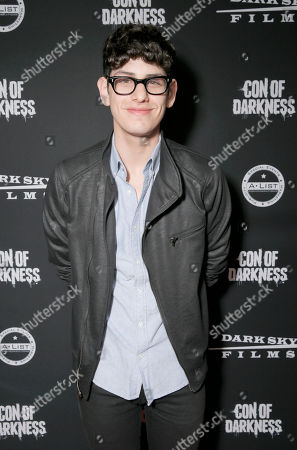 Matt Bennett attends the Con of Darkness, on Friday, July 19th, 2013 in San Diego, California