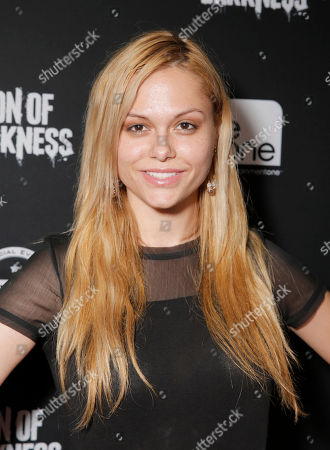 Stock Image of Angelina Armani attends the Con of Darkness, on Friday, July 19th, 2013 in San Diego, California