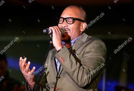 Anthony David performs at the Essence Festival at the Superdome, in New Orleans