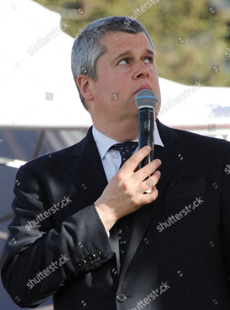 Daniel Handler, whose pen name is Lemony Snicket at the 2013 LA Times Festival of Books at the University of Southern California campus, in Los Angeles
