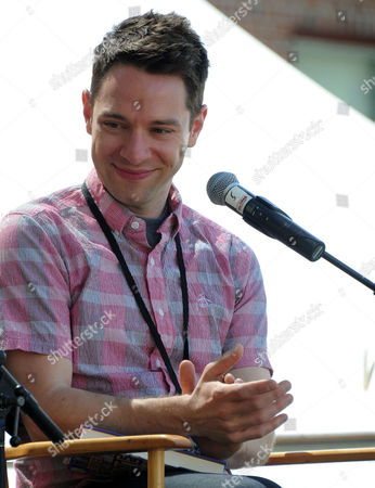 Tim Federle at the 2013 LA Times Festival of Books at the University of Southern California campus, in Los Angeles