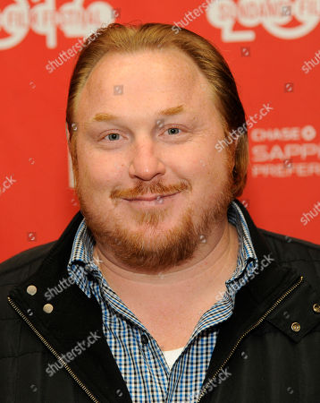 "Keith Kjarval, producer of ""Rudderless,"" poses at the premiere of the film at the 2014 Sundance Film Festival,, in Park City, Utah"