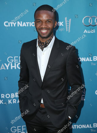Stock Photo of Lee England Jr. attends Backstage at the Geffen, in Los Angeles