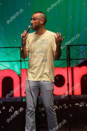 Stock Picture of Ari Shaffir performs at the 2015 Bonnaroo Music and Arts Festival, in Manchester, Tennessee