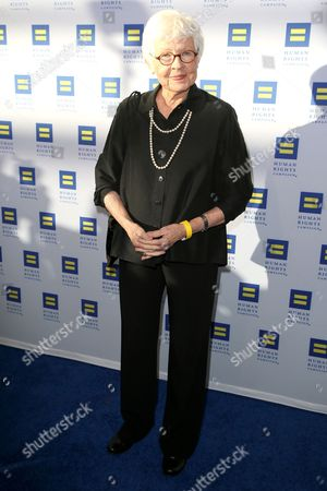 Betty Degeneres arrives at the 2015 Human Rights Campaign Gala Dinner at the JW Marriott LA Live on in Los Angeles