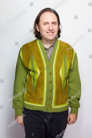 """Gregg Turkington poses for a portrait to promote the film, """"Entertainment"""", at the Eddie Bauer Adventure House during the Sundance Film Festival, in Park City, Utah"""