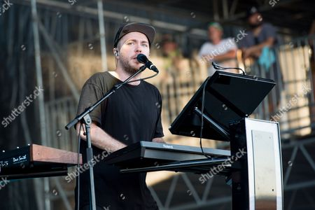 Martin Doherty of CHVRCHES performs at Bonnaroo Music and Arts Festival, in Manchester, Tenn