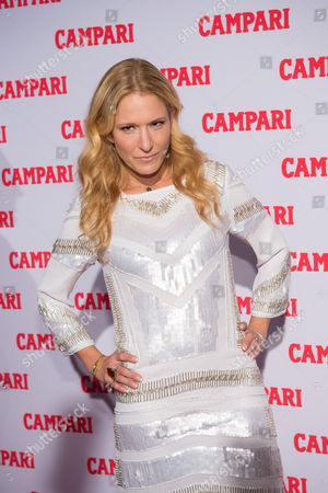 Stock Photo of TV personality Cat Greenleaf attends the 2016 Campari Calendar unveiling celebration at the Standard Hotel, in New York