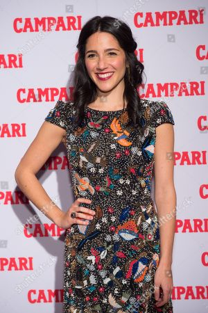 Stock Picture of Actress Samantha Massell attends the 2016 Campari Calendar unveiling celebration at the Standard Hotel, in New York