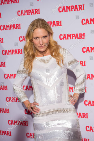 TV personality Cat Greenleaf attends the 2016 Campari Calendar unveiling celebration at the Standard Hotel, in New York