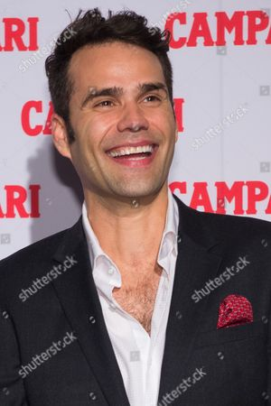 Stock Picture of Singer Chris Norton attends the 2016 Campari Calendar unveiling celebration at the Standard Hotel, in New York