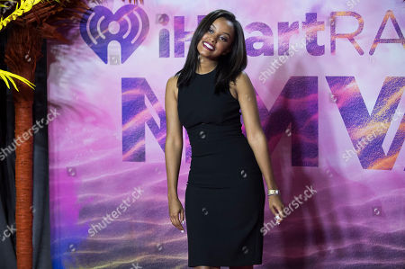 Ruth B poses in the press room at the 2016 iHeartRadio MuchMusic Video Awards, in Toronto, Canada
