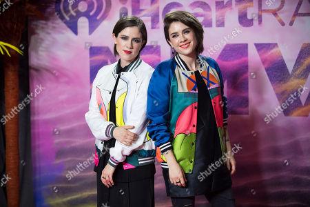 Editorial image of 2016 iHeartRadio MuchMusic Video Awards - Press Room, Toronto, Canada