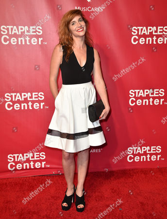 Stock Image of Hana Vagnerova arrives at the MusiCares Person of the Year tribute honoring Lionel Richie at the Los Angeles Convention Center on