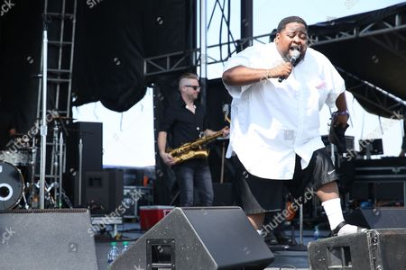 LunchMoney Lewis performs at Pilgrimage Music and Cultural Festival on in Franklin, Tenn
