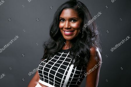"""Denise Boutte, a cast member in the the TV One series """"Media,"""" poses for a portrait during the 2016 Television Critics Association Summer Press Tour at the Beverly Hilton, in Beverly Hills, Calif"""