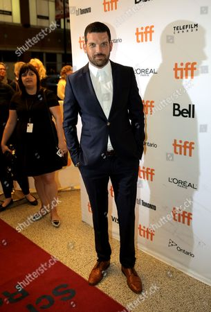 """Stock Picture of Adam Sinclair attends """"The Terry Kath Experienceâ?? premiere on day 8 of the Toronto International Film Festival at the Winter Garden Theatre, in Toronto"""